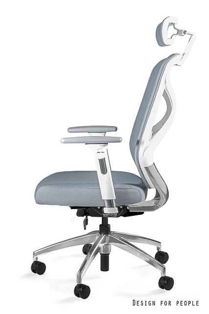 fotel ergonomiczny biały